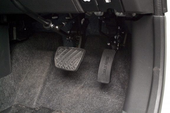 Hinged Accelerator Pedal