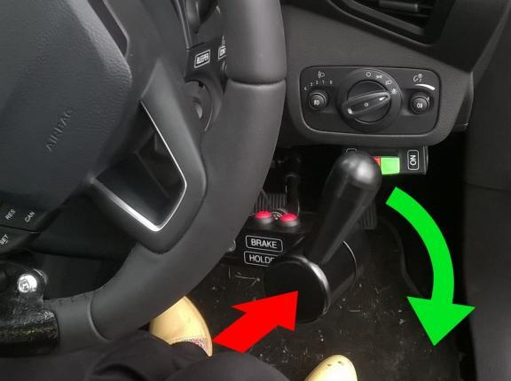 Radial Accelerator and Push Brake