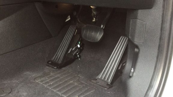 Electric Left Foot Accelerator