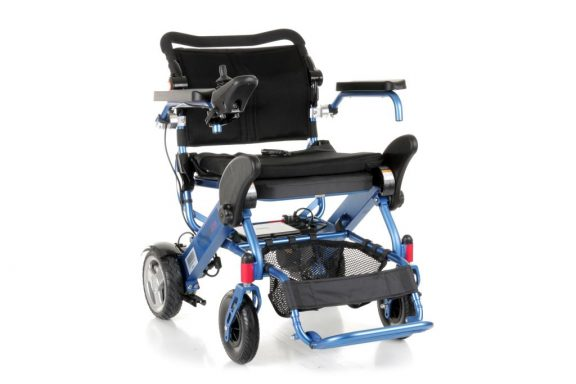 Motion Healthcare Foldalite Folding Powered Wheelchair
