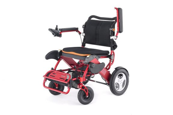 Motion Healthcare Foldalite Trekker Folding Powered Wheelchair