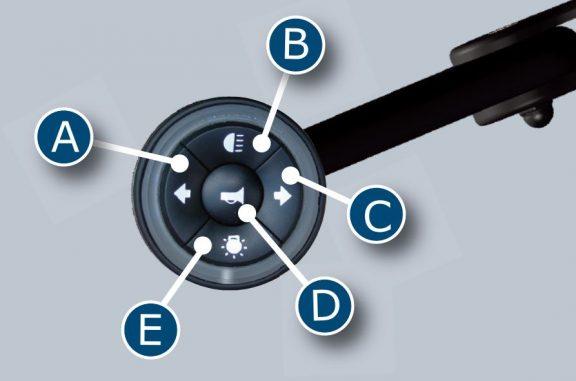 5 Way Secondary Controls